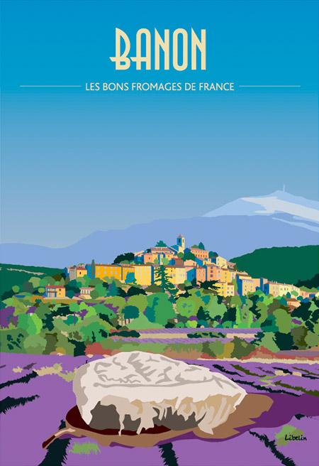 Les bons fromages de France : le Banon