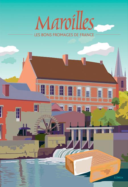 Les bons fromages de France : le Maroilles