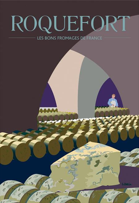Les bons fromages de France : le roquefort