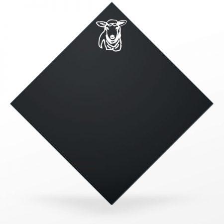 Pic à fromage carré et noir : brebis