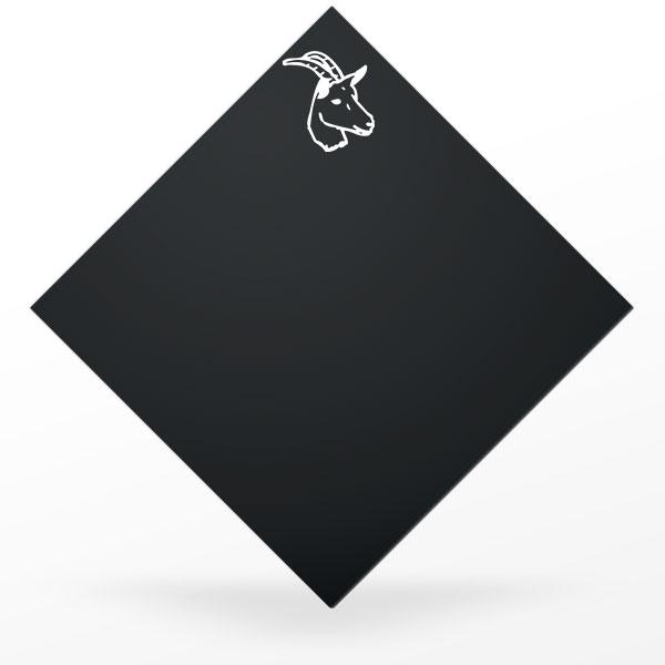 Pic à fromage carré et noir : chèvre