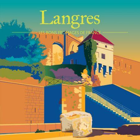 Affiche carrée Langres