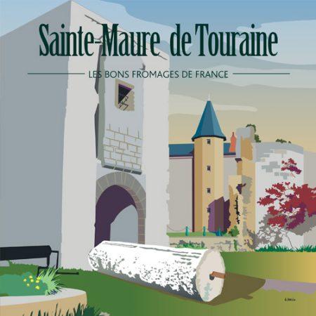 Affiche carrée Saint-Maure
