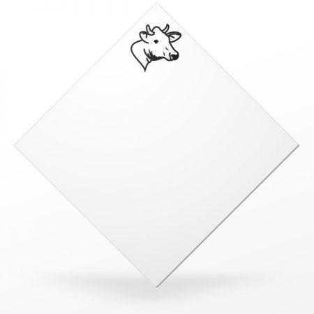 Pic carré à plateau de fromage de vache