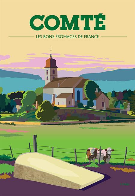 Les bons fromages de France : le comté