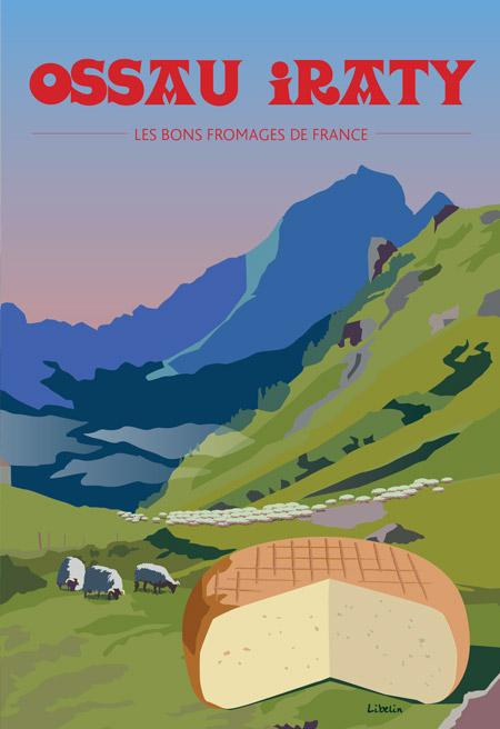Les bons fromages de France : l'ossau