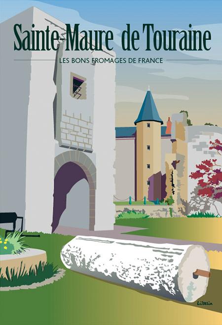 Les bons fromages de France : le Saint-Maure
